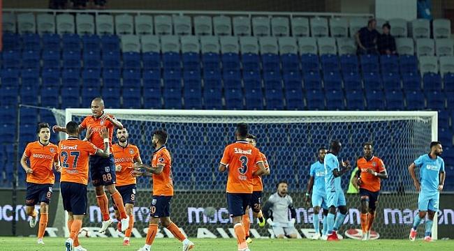 Başakşehir Trabzon'u kolay aştı: 2-0
