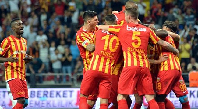 Kayserispor Antalyaspor'u 2-0'la geçti