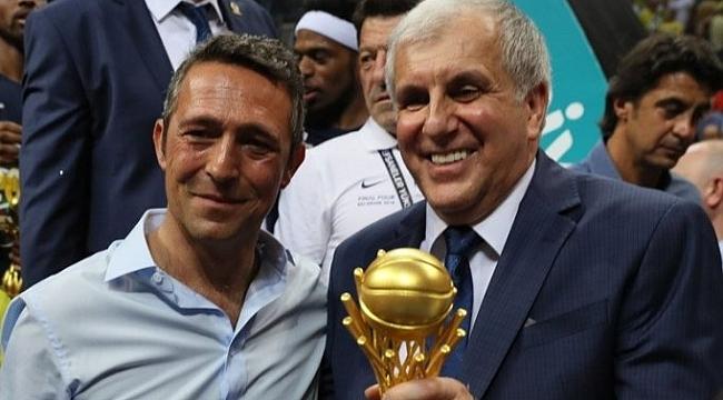 Zeljko Obradovic'ten Ali Koç'a teşekkür