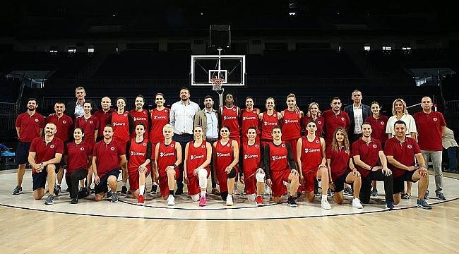 A Milli Kadın Basketbol Takımı'nınDünya Kupası kadrosu belli oldu