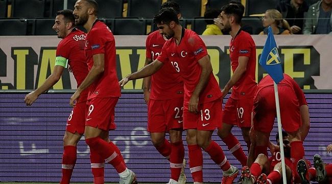 A Milli Takım, FIFA sıralamasındaki yerini korudu