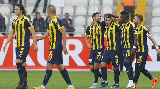 Ankaragücü Akhisar'ı tek golle geçti