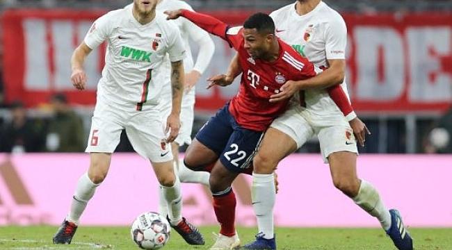 Bayern Münih Augsburg'a takıldı
