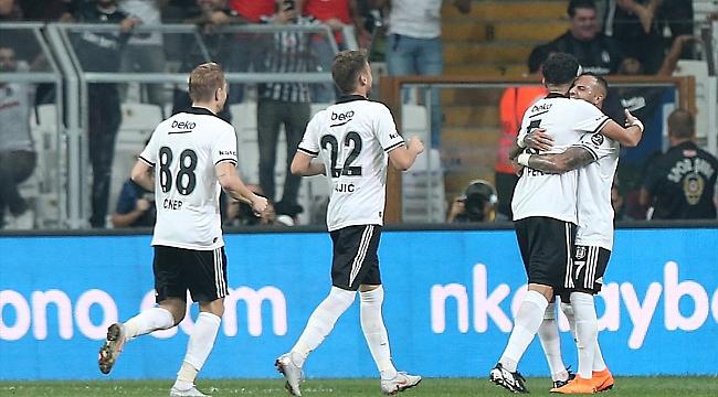 Beşiktaş 3 puanı aldı Medel'i kaybetti