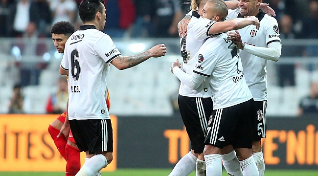 Beşiktaş Quaresma'yla uçtu: 2-0
