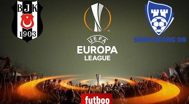 Beşiktaş - Sarpsborg maçı ne zaman, saat kaçta, hangi kanalda?