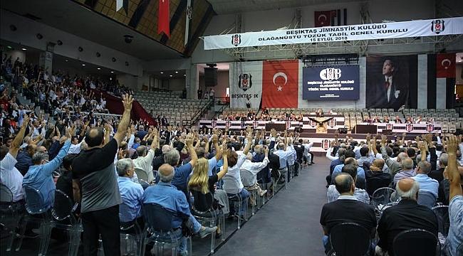 Beşiktaş'ta tüzük değişikliği kongresi sona erdi