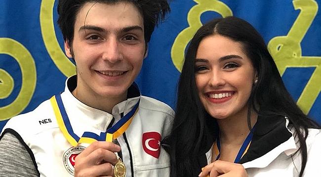 Buz pateninde altın madalya kazandık