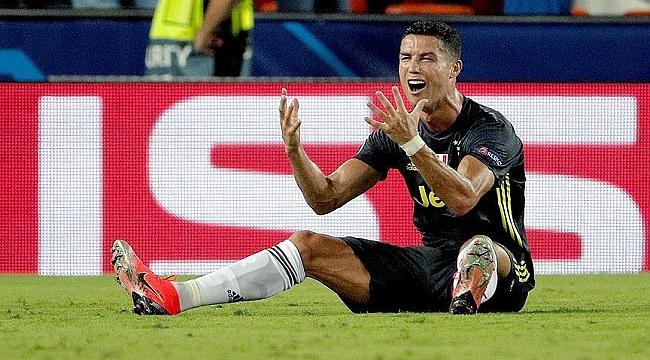 Cristiano Ronaldo'ya 1 maç ceza