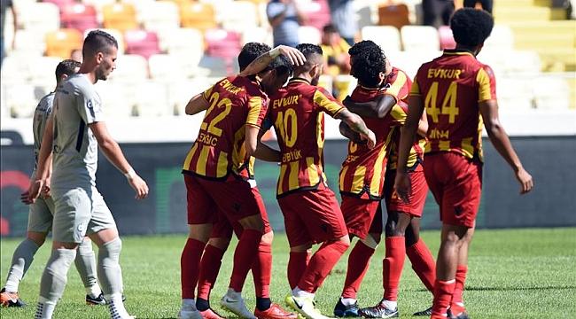 Evkur Yeni Malatyaspor Rize engelini tek golle aştı