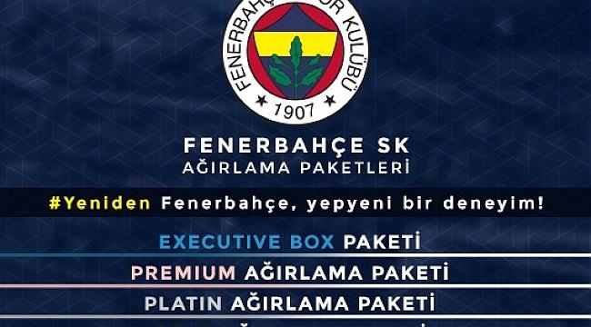 Fenerbahçe Futbol Ağırlama Paketleri'ni tanıttı