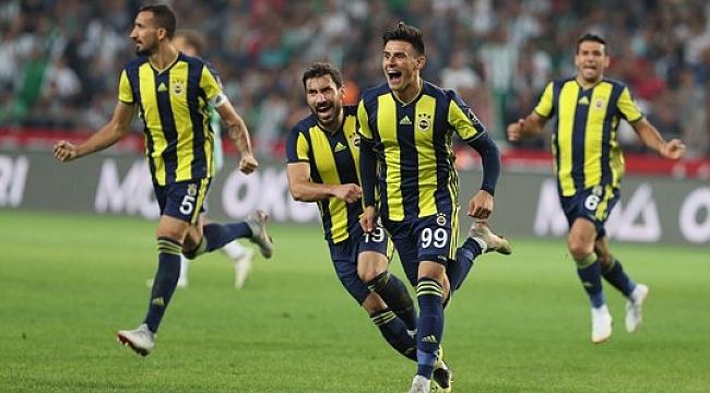 Fenerbahçe Konya'da Elmas buldu: 0-1