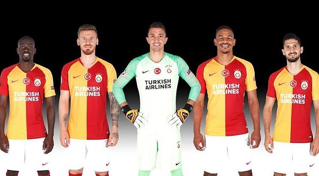Galatasaray'ın Avrupa maçlarındaki yeni sponsoru belli oldu