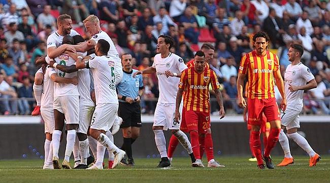 Konyaspor Kayseri'yi deplasmanda devirdi: 0-2