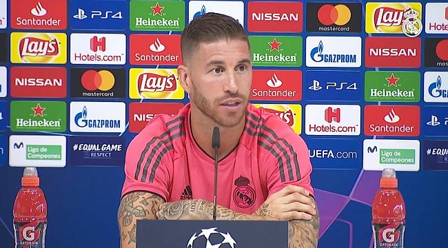Sergio Ramos'tan Griezmann'a sert sözler