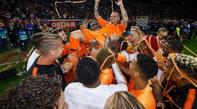 Sneijder de Milli Takım'a veda etti