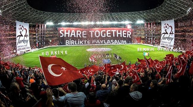 Süper Lig kulüplerinden Türkiye'nin EURO 2024 adaylığına destek mesajı