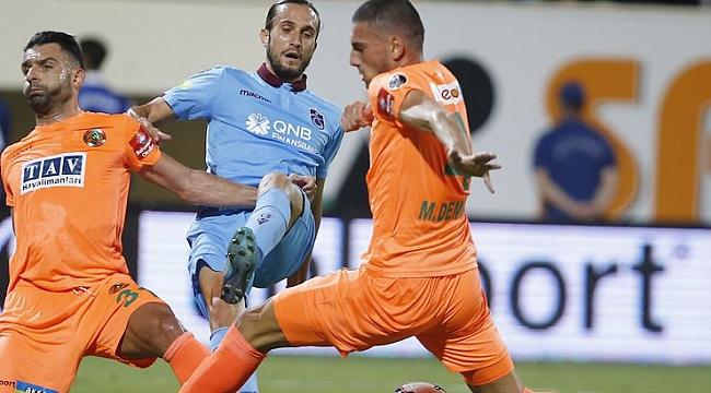Trabzonspor'a Alanya şoku: 1-0