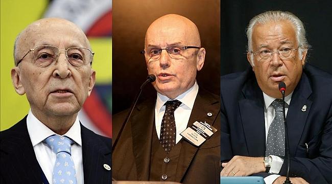 Üç Büyükler'in divan başkanları bir araya geliyor