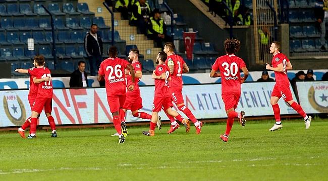 Antalyaspor Hakan Özmert'le 3 puanı aldı
