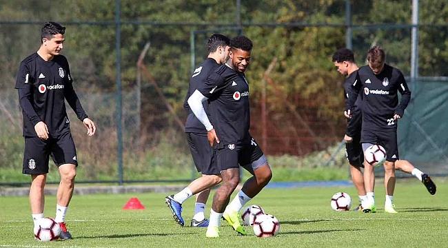 Beşiktaş, Başakşehir hazırlıklarına 2 eksikle başladı