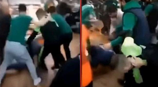 Beşiktaşlılar'a saldıran Bursaspor taraftarlarından ikisi gözaltına alındı