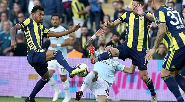 Fenerbahçe Başakşehir'e de puan verdi: 0-0