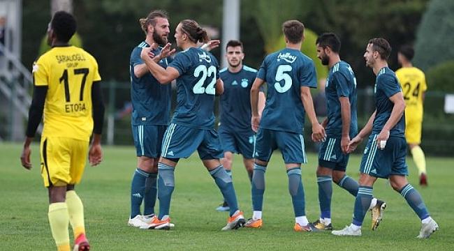 Fenerbahçe'de yüzler gülmeye başladı