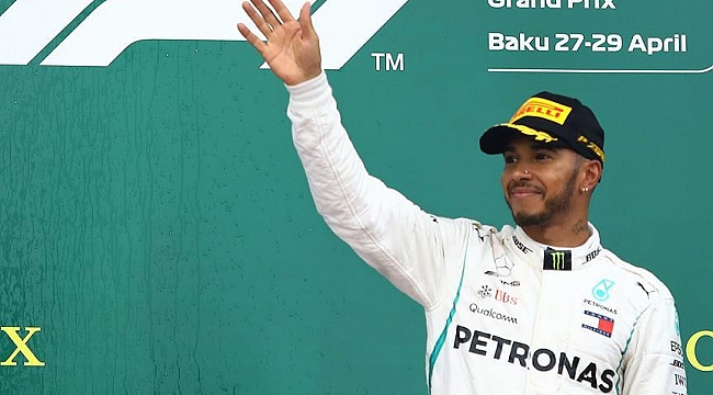 Lewis Hamilton'dan üst üste 4. zafer