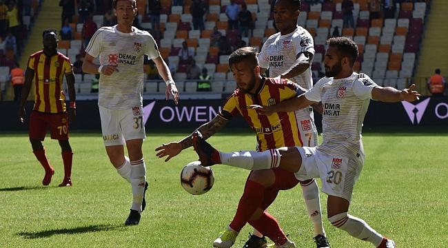 Malatya'da Süper Lig'in adına yakışan maç: 4-4