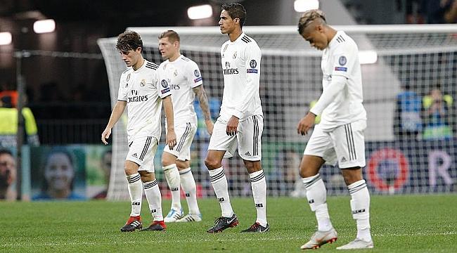 Real Madrid serbest düşüşte