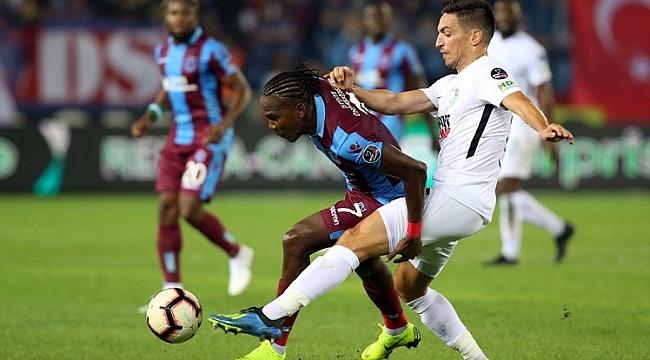 Trabzonspor fırsatı kaçırdı