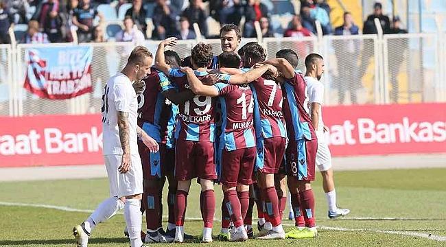 Trabzonspor kendini sıkmadan
