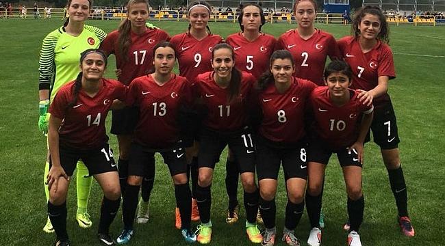 U19 Kadın Milli Takımımız Azerbaycan'ı 2-0'la geçti