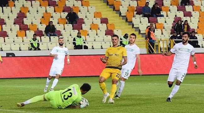 Yeni Malatyaspor tek golle