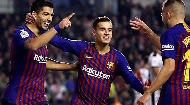 Barcelona son 3 dakikada güldü