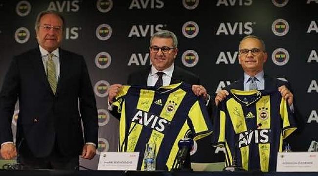 Fenerbahçe ile AVIS arasında resmi imzalar atıldı