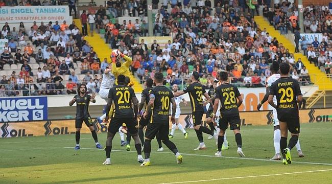 Yeni Malatyaspor Alanya'da tek golle galip