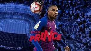 Kevin-Prince Boateng Barcelona'da