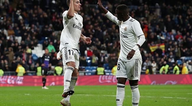 Real Madrid'e gençlik aşısı