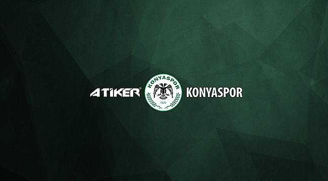 Atiker Konyaspor'dan açıklama