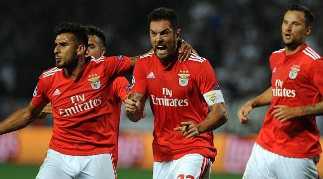 Benfica gol olup yağdı