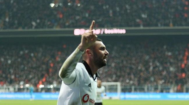Beşiktaş'ı Burak Yılmaz taşıdı