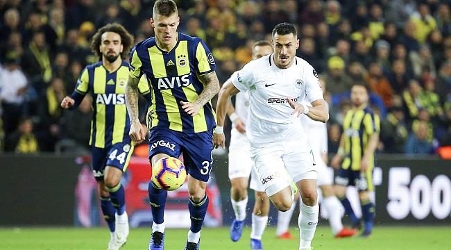 Fenerbahçe avantajı kullanamadı