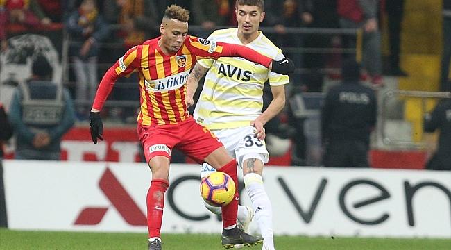 Fenerbahçe Kayseri'den eli boş dönüyor