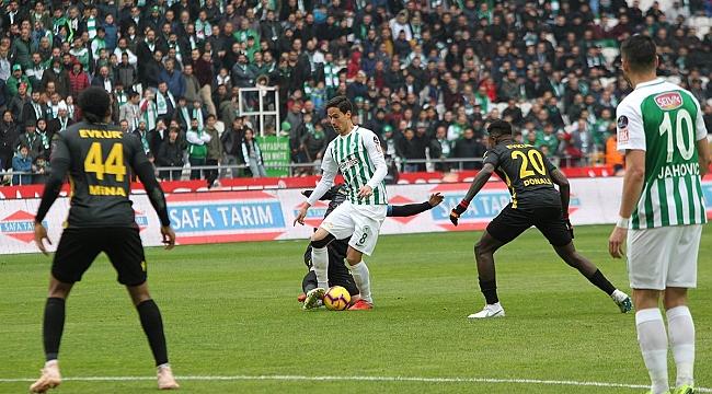 Konyaspor ile Yeni Malatya yenişemedi: 1-1