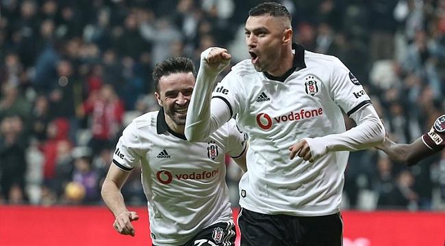 Beşiktaş yine Burak'la güldü