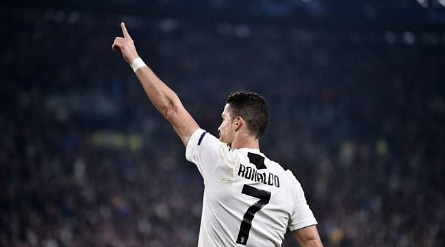Juventus C.Ronaldo ile çeyrek finale koştu