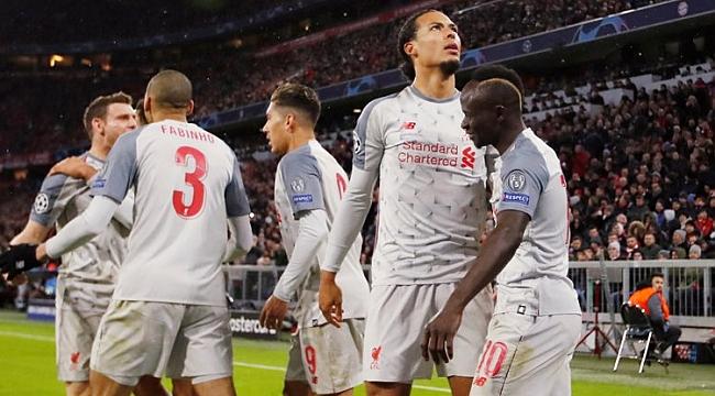 Liverpool Bayern'i kupanın dışına itti