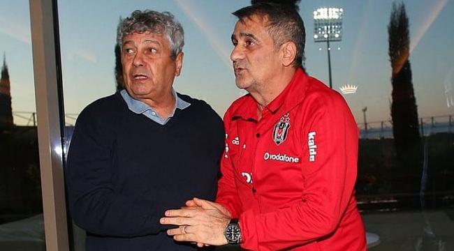 Lucescu Beşiktaş Tesisleri'nde